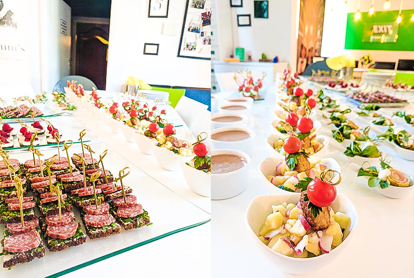 Fingerfood Catering Team Building
