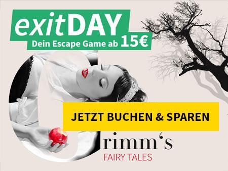 Mittwoch ist exitDAY - Grimms - Rettet Schneewittchen