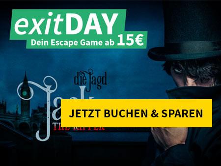 Mittwoch ist exitDAY - Jack the Ripper - Die Jagd